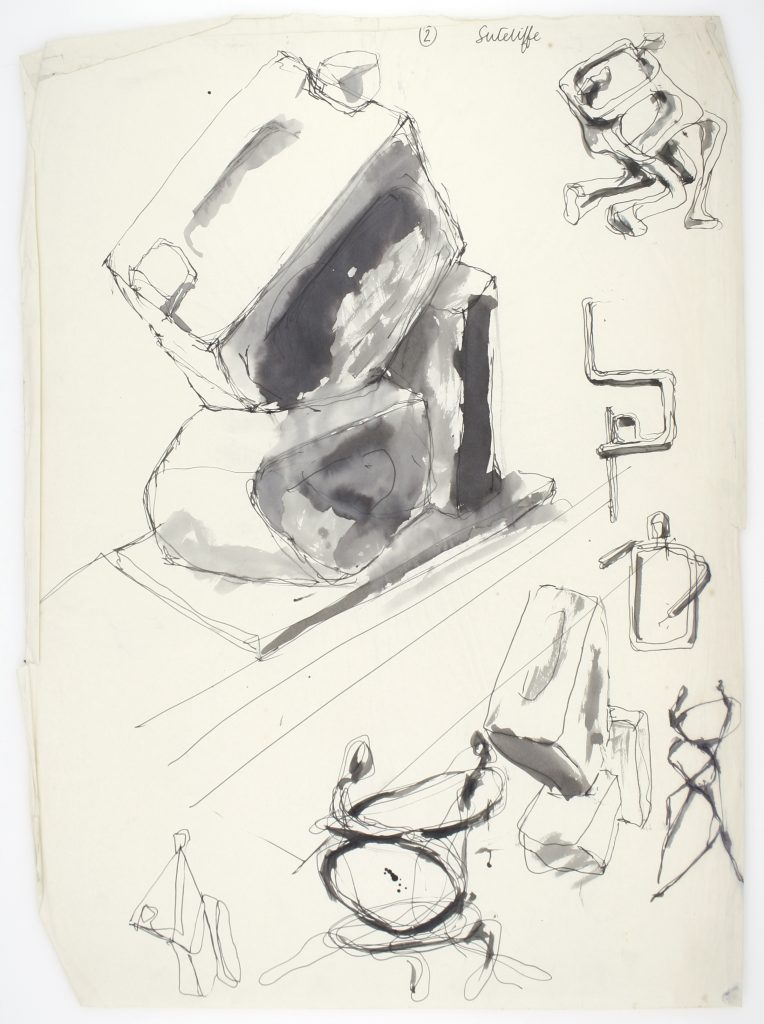 Stuart Sutcliffe Untitled. #8004